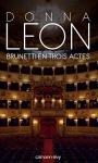 """Couverture du livre : """"Brunetti en trois actes"""""""