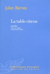 """Couverture du livre : """"La table citron"""""""