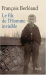 """Couverture du livre : """"Le fils de l'homme invisible"""""""