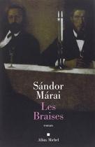 """Couverture du livre : """"Les braises"""""""