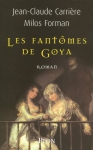 """Couverture du livre : """"Les fantômes de Goya"""""""