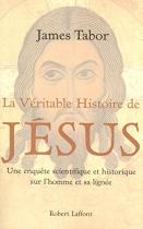 """Couverture du livre : """"La véritable histoire de Jésus"""""""