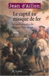"""Couverture du livre : """"Le captif au masque de fer"""""""
