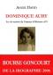 """Couverture du livre : """"Dominique Aury"""""""