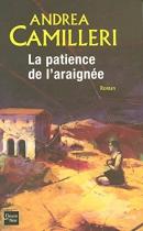 """Couverture du livre : """"La patience de l'araignée"""""""
