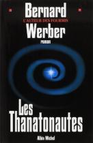 """Couverture du livre : """"Les thanatonautes"""""""