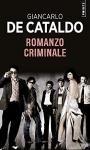 """Couverture du livre : """"Romanzo criminale"""""""