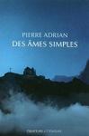"""Couverture du livre : """"Des âmes simples"""""""