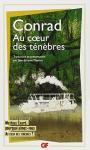 """Couverture du livre : """"Au coeur des ténèbres"""""""