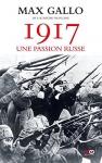 """Couverture du livre : """"1917, une passion russe"""""""
