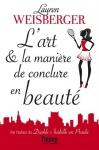"""Couverture du livre : """"L'art et la manière de conclure en beauté"""""""