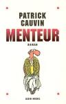 """Couverture du livre : """"Menteur"""""""