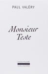 """Couverture du livre : """"Monsieur Teste"""""""