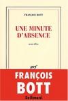 """Couverture du livre : """"Une minute d'absence"""""""