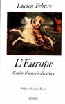 """Couverture du livre : """"L'Europe"""""""