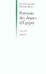 """Couverture du livre : """"Portraits des dames d'Égypte"""""""