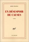 """Couverture du livre : """"En désespoir de causes"""""""