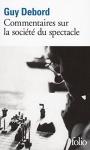 """Couverture du livre : """"Commentaires sur La société du spectacle"""""""