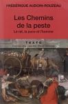 """Couverture du livre : """"Les chemins de la peste"""""""