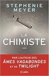 """Couverture du livre : """"La chimiste"""""""