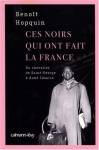 """Couverture du livre : """"Ces Noirs qui ont fait la France"""""""