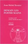 """Couverture du livre : """"Demain les posthumains"""""""