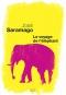 """Couverture du livre : """"Le voyage de l'éléphant"""""""