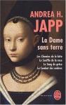 """Couverture du livre : """"La dame sans terre"""""""