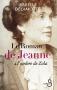 """Couverture du livre : """"Le roman de Jeanne"""""""