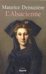 """Couverture du livre : """"L'Alsacienne"""""""