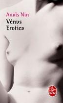 """Couverture du livre : """"Venus erotica"""""""