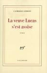 """Couverture du livre : """"La veuve Lucas s'est assise"""""""