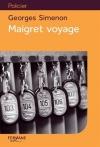 """Couverture du livre : """"Maigret voyage"""""""
