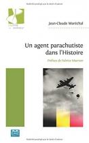 """Couverture du livre : """"Un agent parachutiste dans l'histoire"""""""