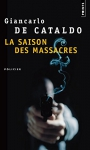 """Couverture du livre : """"La saison des massacres"""""""