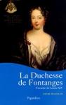 """Couverture du livre : """"La duchesse de Fontanges"""""""