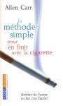 """Couverture du livre : """"La méthode simple pour en finir avec la cigarette"""""""