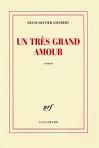 """Couverture du livre : """"Un très grand amour"""""""