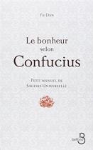 """Couverture du livre : """"Le bonheur selon Confucius"""""""