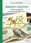 """Couverture du livre : """"Argent content"""""""