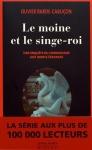 """Couverture du livre : """"Le moine et le singe-roi"""""""