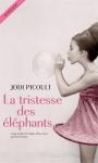 """Couverture du livre : """"La tristesse des éléphants"""""""