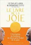 """Couverture du livre : """"Le livre de la joie"""""""