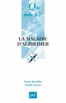 """Couverture du livre : """"La maladie d'Alzheimer"""""""