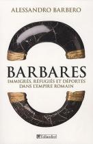"""Couverture du livre : """"Barbares"""""""