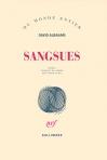 """Couverture du livre : """"Sangsues"""""""