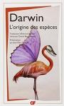 """Couverture du livre : """"L'origine des espèces"""""""