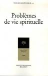 """Couverture du livre : """"Problèmes de vie spirituelle"""""""