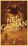 "Couverture du livre : ""Anansi boys"""