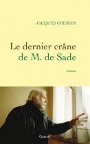 """Couverture du livre : """"Le dernier crâne de M. de Sade"""""""